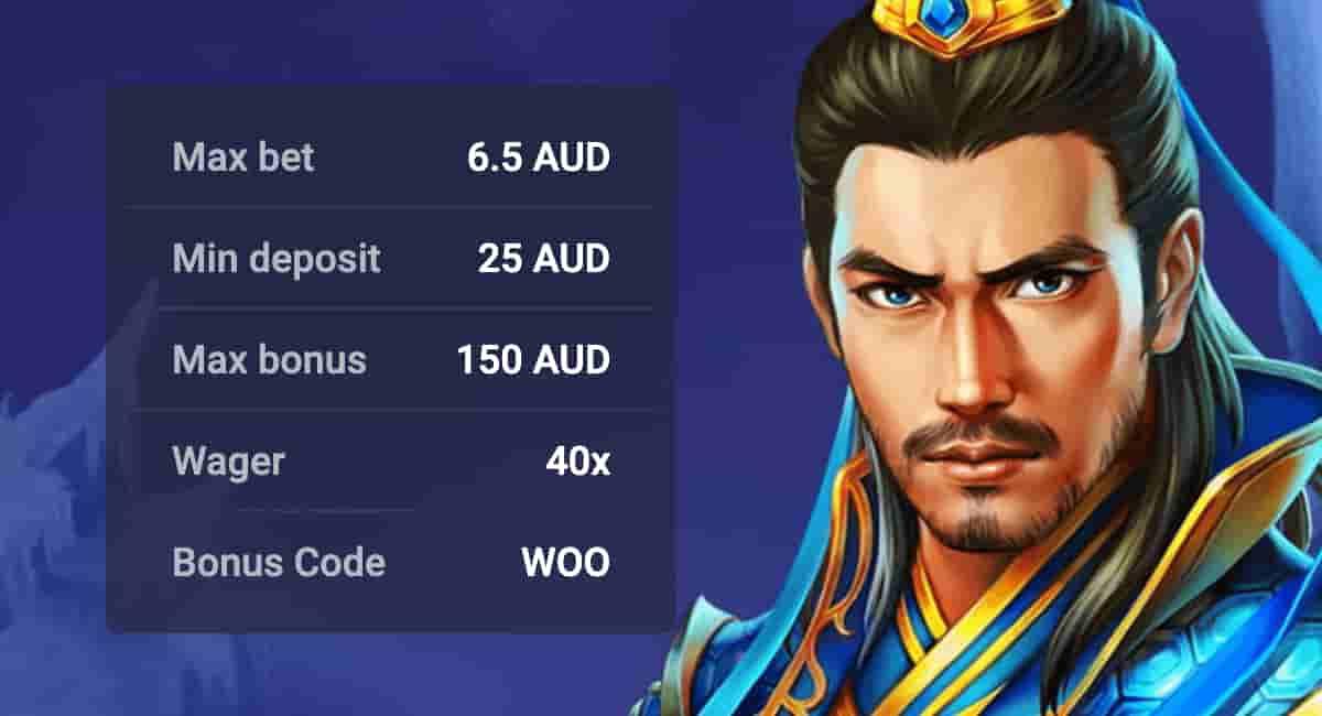 First Deposit Bonus for Australia