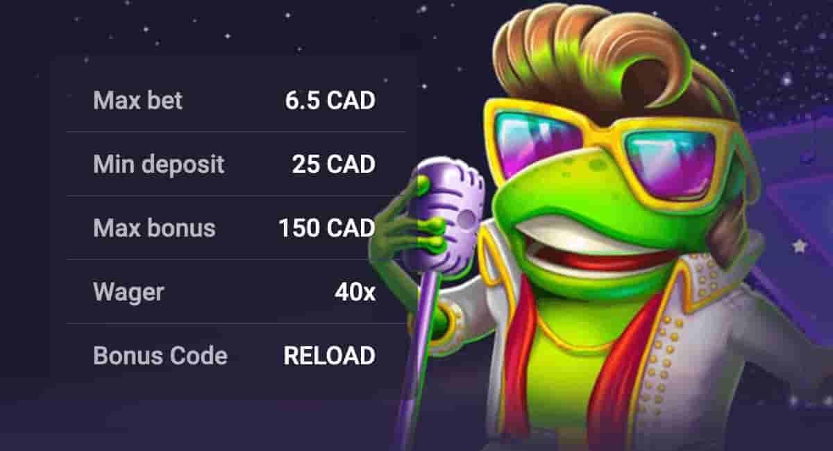 Reload Bonus Canada