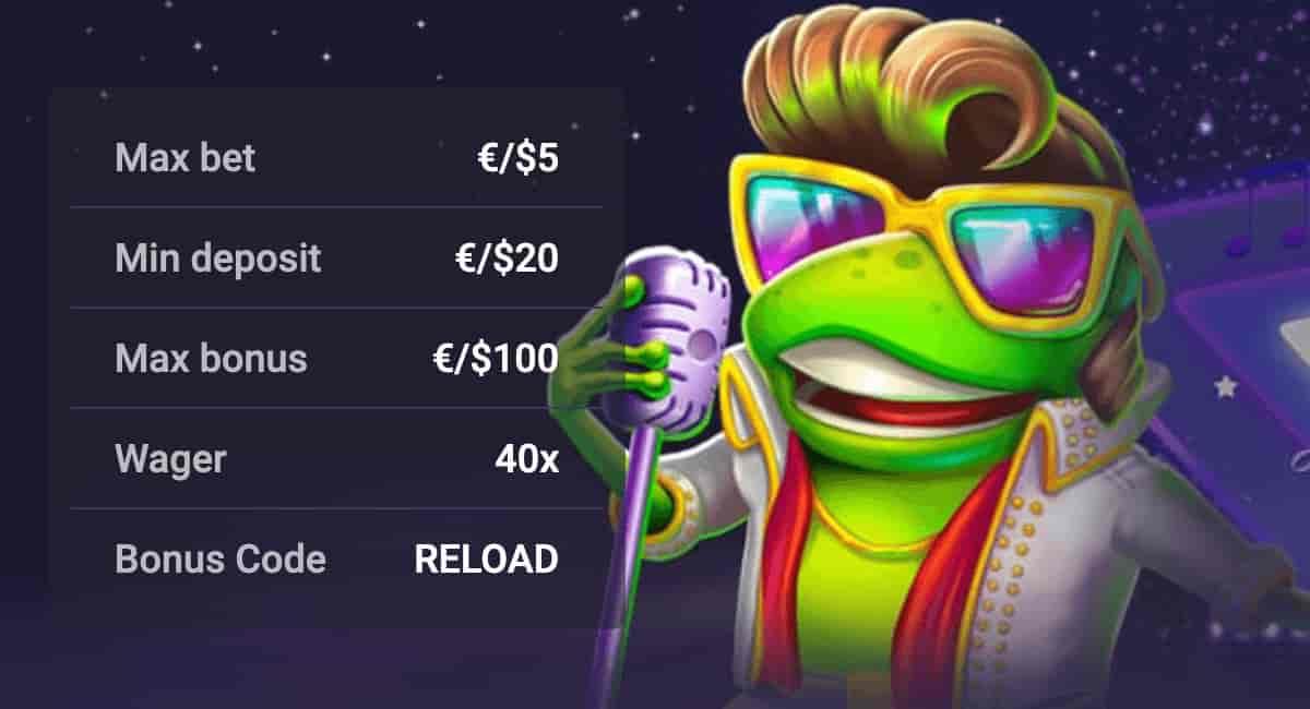Reload Bonus Offer